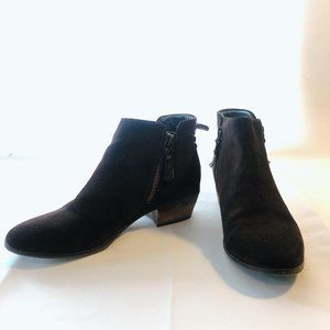 Vince Camuto Tricera Suede Leather Ankle Booties
